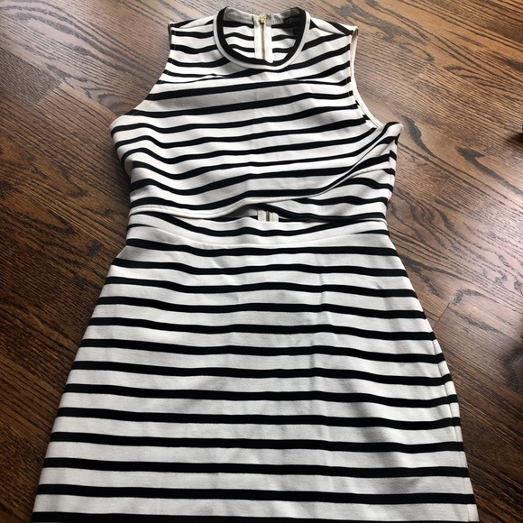Express Dresses & Skirts - Express black and white dress 🔲 EUC